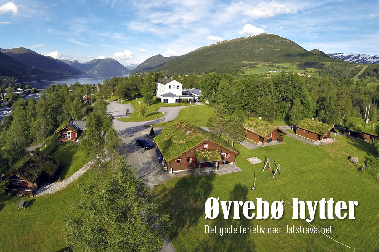 Øvrebø hytter - Det gode ferieliv nær Jølstravatnet